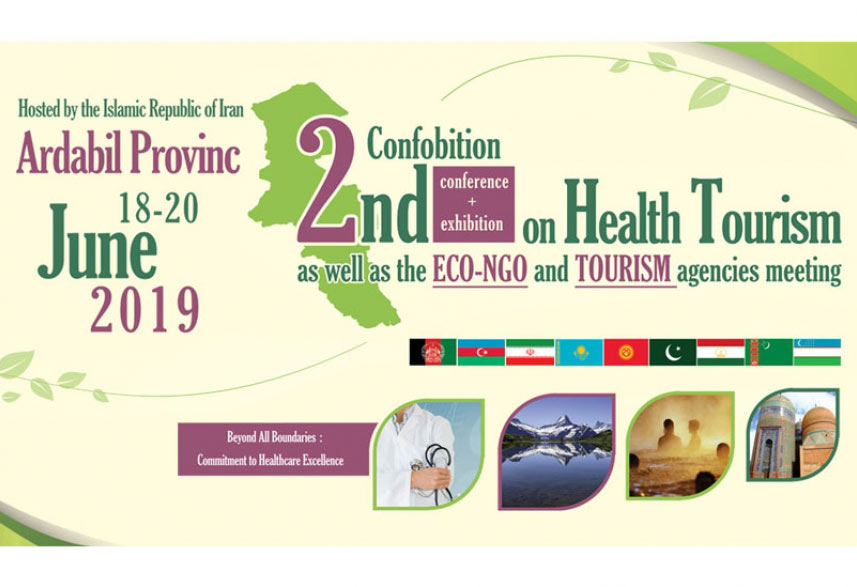 The Largest health tourism event of ECO countries Iran, Ardabil - JUNE 2019