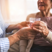 Older people may not feel as thirsty as younger adults