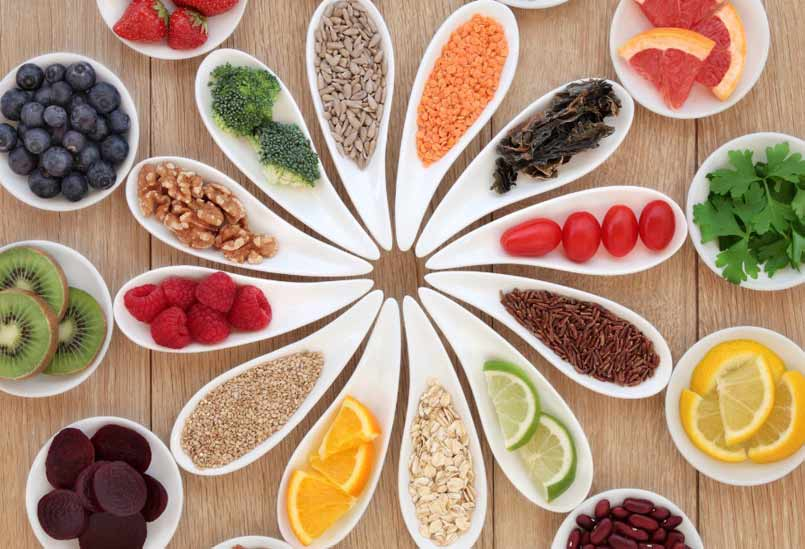 Reduce the risk of heart attack - Healthy diet